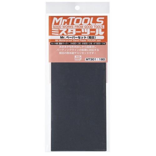 Mr. waterproof dand paper 400x2/600x2 y 1000x2