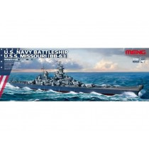 USS Missouri BB-63 1/700