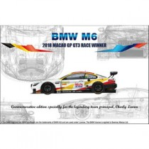 BMW M6 2018 MACAU GP GT3 RACE WINNER 1/24