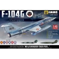 F-104G 1/48 , con calcas españolas