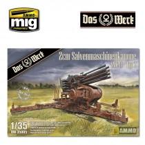 2cm Salvenmaschinenkanone - SMK Typ 2 1/35