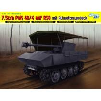 7.5cm PaK 40/4 auf RSO mit Allwetterverdeck 1/35