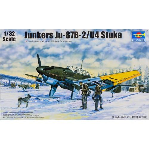 JUNKERS Ju-87B-2/U4 STUKA 1/32