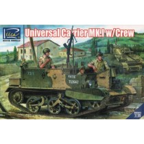 British Airborne Universal Carrier Mk.III with Welbike Mk.2 (limited Editio  1/35