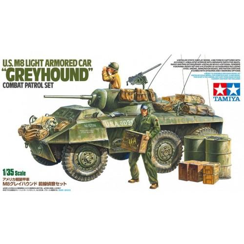 US M8 Greyhound Light Armoured Car Combat Patrol Set 1/35