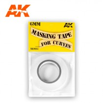 MASKING TAPE FOR CURVES 6 MM. 18 METERS LONG