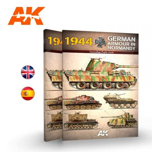 1944 GERMAN ARMOUR IN NORMANDY – CAMOUFLAGE PROFILE GUIDE