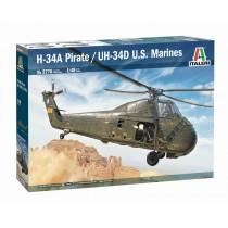 H-34A Pirate /UH-34D U.S. Marines 1/48