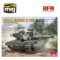 BRITISH MAIN BATTLE TANK CHALLENGER 2 TES 1/35
