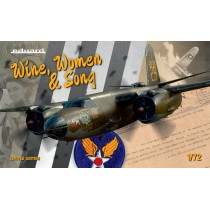 WINE, WOMEN & SONG , B-26 MARAUDER IN ETO& MTO 1/72