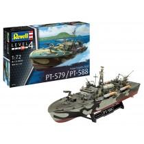PT-588/PT-579 Patrol Torpedo Boat (Late) 1/72