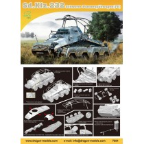 Sd.Kfz.232 Schwerer Panzerspahwagen (Fu) 1/72