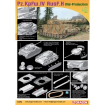 Pz.Kpfw.IV Ausf.H Mid Production 1/72