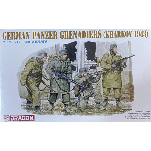 Panzer Grenadiers (Kharkov 1943) 1/35
