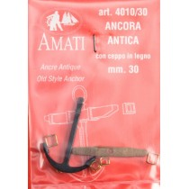ANCLA ANTIGUA 30 MM. 2 UNIDADES