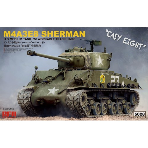 M4A3E8 SHERMAN 1/35