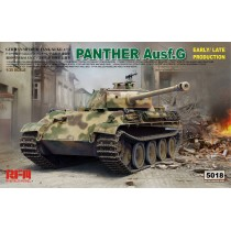 Panther Ausf.G with workable track links & a canvas cover of muzzle brake part1/35