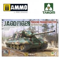 JAGDTIGER PORSCHE PRODUCTION TYPE Sd.Kfz.186 1/35