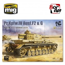 Pz.Kpfw.IV Ausf.F2 G early 2in1 1/35