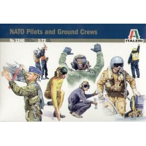 NATO Pilots and Ground crew 1/72