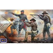 18th North Carolina Inf.Regiment,1863 (5 fig) 1/35