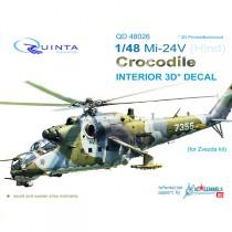 Mi-24V 3D-Print&colour Interior (ZVE)