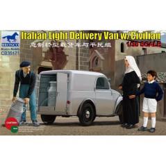 Italian Delivery Van w/civilian 1/35