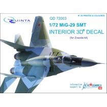 MiG-29 SMT 3D-Print&colour Interior (ZVE) 1/72