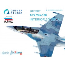 Yak-130 3D-Print&colour Interior (ZVE) 1/72