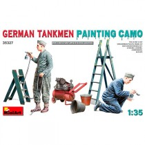 MiniArt Figuras German Tankmen. Paint Camo 1/35