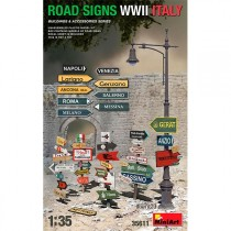 MiniArt Accesorios Road Signs WWII Italy 1/35
