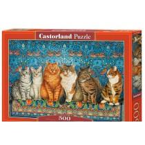 Cat Aristocracy, Puzzle 500 PZAS.
