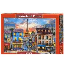 Streets of Paris, Puzzle 500 PZAS.