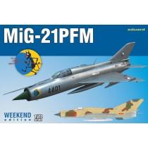 Mikoyan MiG-21PFM Weekend edition 1/72