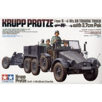 Krupp-Protze Kfz.69 1 ton (6 x 6) towing truck with 37mm Pak  1/35