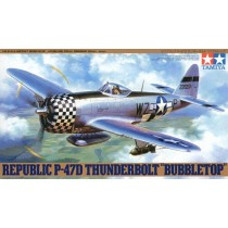 Republic P-47D Thunderbolt 'Bubbletop' 1/48