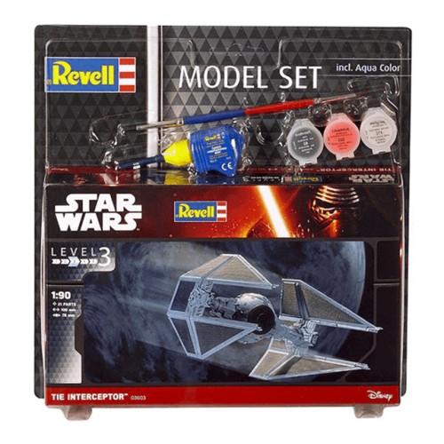Model Set TIE Interceptor 1/90