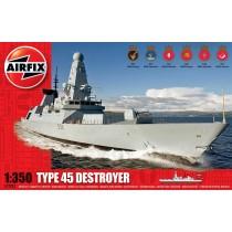 HMS Daring Type 45 Destroyer 1/350