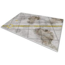 Runway Tarmac 6 - 1/48 (350 x 250 mm)