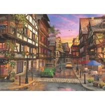 Puzzle Anatolian Calle de Colmar, Francia de 1000 Piezas