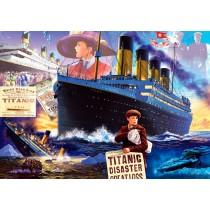 Puzzle Bluebird Titanic de 1000 Piezas