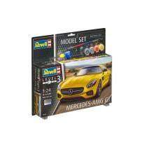 Model Set Mercedes-AMG GT 1/24