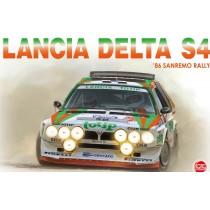 Lancia Delta S4 `86 Rallye Sanremo 1/24