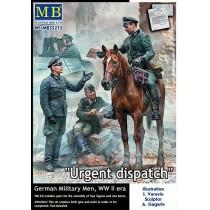 WWII Urgent Dispatch. German Military Men
