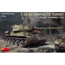 MiniArt T-34-85 w/D-5T Plant 112 Spring 44