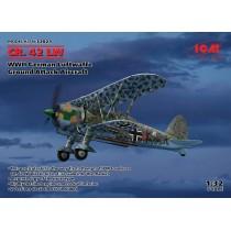 Fiat CR.42 LW , WWII German Luftwaffe Ground Attack Aircraft (100% new molds) 1/32