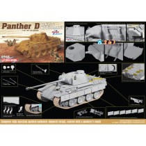Sd.Kfz.171 Panther Ausf.D w/Zimmerit (2 in 1) 1/35