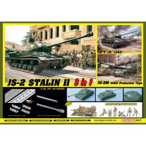 JS-2 Stalin II (3 in 1) + Soviet Infantry Tank Riders 1/35