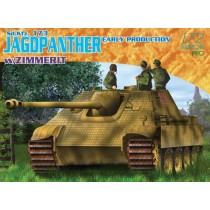 Sd.Kfz.173 Jagdpanther Early Production w/Zimmerit 1/72