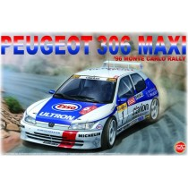 Peugeot 306 Maxi Nunu Model Kit 1/24